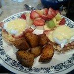 The Eggs Benedict!!