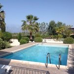 our pool in Coral Bay, Paphos