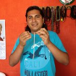 Miguel will make you beautiful jewelry