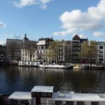 Amstel river view from room