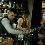 Bartenders in action.