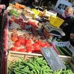 Lots in the market even in cool March!