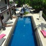 1 des 2 piscines