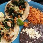 Taco Dos. Vegetarian. Good!