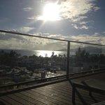 view from sunbathing terrace