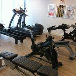 Leuke fitness/wellnes ruimte