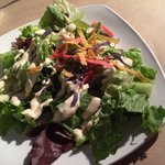Entrees come with a Starter Salad with chipotle vinaigrette