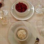 miniature strawberries and cream
