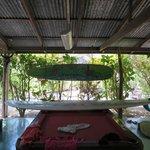 Bar/billiards area