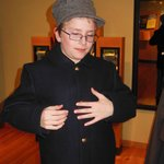 Children of all ages can try on clothing of the era.