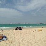 the main beach - 5 min walk from the hotel
