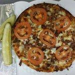 Bacon Cheeseburger Express Pizza