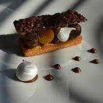 dessert chocolat-poire