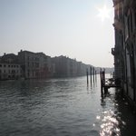 View from the front of the hotel on the Grand Canal