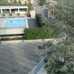 Panorama piscina da secondo piano