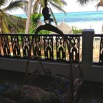 Balcony swing off our room