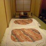 Zimmer mit Tatami