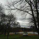 Branch of the Baltic Sea infront of Nasby Slott