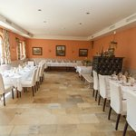 dining room, prepared for our wedding