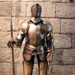 Suit of Armour in entrance