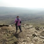 Pen-y-Ghent : 31 March 2014 : Before dropping down