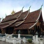 Minha foto do Wat Xieng Thong- Luang Prabang, Laos