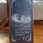 The famous Alex Burger...