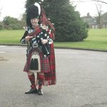 Traditional Bag Piper