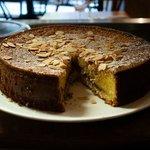 Homemade Bakewell cake