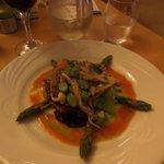 Wild Mushroom and Asparagus salad