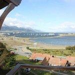 La vista desde su balcon