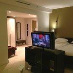 One of the junior suites
