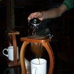 "Making coffee ""tico style"""