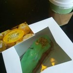 Coffee and Eclair at Maison Villatte