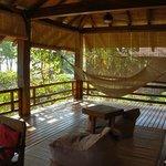 Deck at Garden Villa