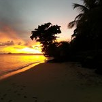 Sunrise outside Fale