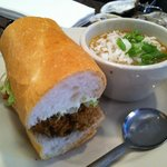 po boy at Felix's  -awesome !