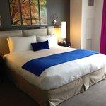 Nice big bedroom lots of light