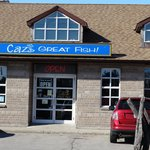 Caz's Fish and Chip Shoppe, Cambridge.