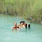 Sian Ka'an floating down the Lazy River