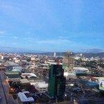View of Cebu city from radisson blu