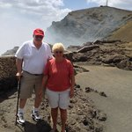VIEWING THE ACTIVE VOLCANO
