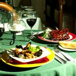 fine dining...