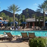 Pool and Camelback Mt.