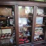 Don Martine's antique toy collection.