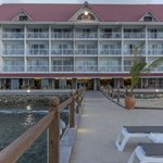 hotel from pier