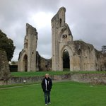 Another view of awesome Glastonbury Abbey in England