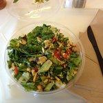 Half Moon salad bowl