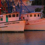 Shem Creek shrimp boats