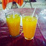 Chinola drink (passion fruit juice)